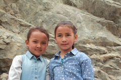 Child In Ladakh. Royalty Free Stock Photo