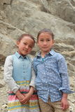 Child In Ladakh -1. royalty free stock images