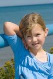 Child at lake. Royalty Free Stock Photography