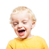 Child laughing Stock Photography