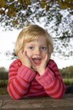 Child is Laughing Stock Photo