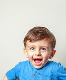 Child laughing Stock Photos