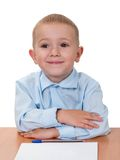 Child learning Royalty Free Stock Photo