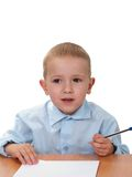 Child learning Royalty Free Stock Photos