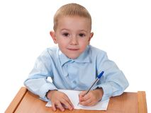 Child learning Stock Image