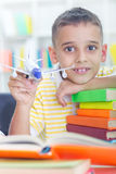 Child with learning difficulties Stock Images