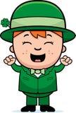 Child Leprechaun Excited Stock Photos