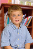 Child in Library Stock Photos
