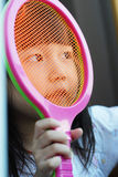child like Tennis Stock Photography