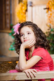 Child, a little beautiful girl Stock Photo