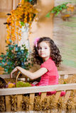 Child, a little beautiful girl Stock Photography