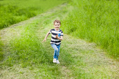 Child, little, boy, sports, joy, health, active, fun, summer, emotions, kid Royalty Free Stock Photo