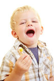 Child with lollipop Royalty Free Stock Photo