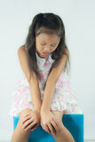 Child lonely Royalty Free Stock Photography
