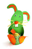 A child made rabbit Royalty Free Stock Image