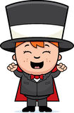 Child Magician Excited Royalty Free Stock Photos