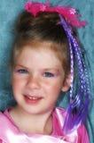 Child Make-up. Girl dresses as a princess Stock Photography