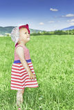 Child in the meadow Royalty Free Stock Photos