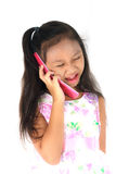 Child mobile phone Stock Image