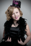 Child Model Playing Dress Up Royalty Free Stock Photos