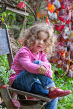 Child Modeling Royalty Free Stock Images