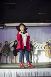 Child models walk the runway on Kengaroo show Stock Photo