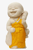 Child Monk Statue Royalty Free Stock Photo