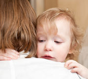 Child with mother Stock Images