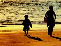 child mother Στοκ Φωτογραφίες