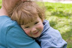 Child with mum Stock Images