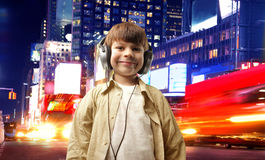 Child and music Stock Photography