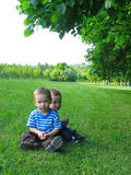 Child in nature Royalty Free Stock Image