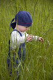 Child in nature Stock Photos