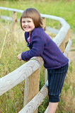 Child in nature Royalty Free Stock Photos