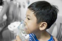Child Nebulizer blur detail art Royalty Free Stock Photo