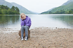 Child neglect Stock Images