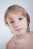 Child with nice expression Stock Images