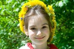 Child Oduvanchik Stock Image
