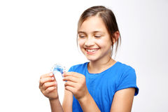 Child orthodontist. Royalty Free Stock Images