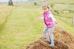 Child Outdoor Activity Stock Image