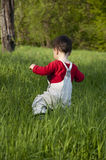 Child outdoors Royalty Free Stock Images