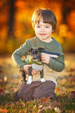 child outside Stock Image