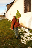 Child outside Royalty Free Stock Photos