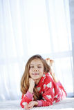 Child in pajamas Royalty Free Stock Photo