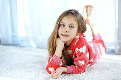 Child in pajamas Royalty Free Stock Photography