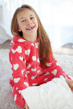 Child in pajamas Stock Photos