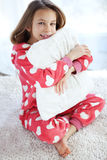 Child in pajamas Royalty Free Stock Photos