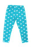Child pants in stars. Stock Image
