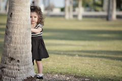 Child in the park Royalty Free Stock Photography