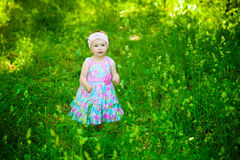 Child in the park Royalty Free Stock Images